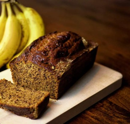 Banana Bread with Coconut Rum