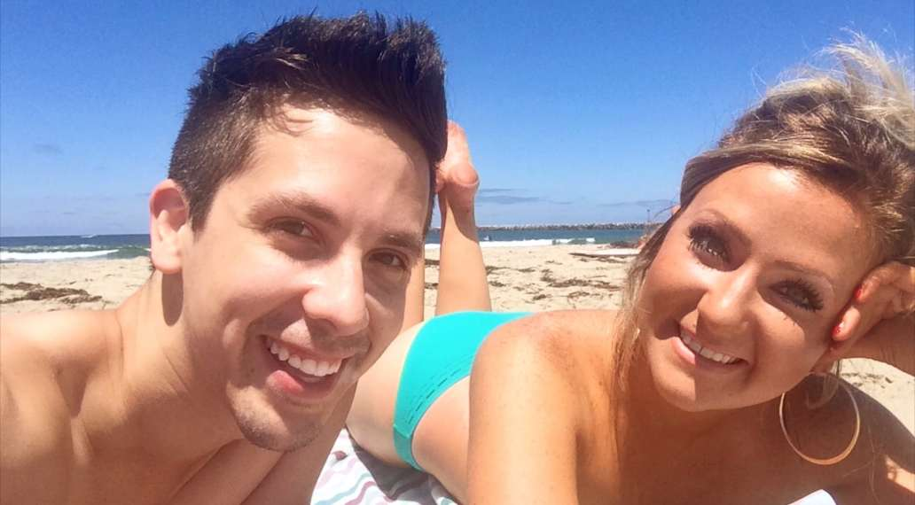 Cody Rodriguez and Lauren Blackwell in San Diego, California