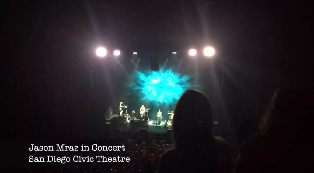 Jason Mraz In Concert in San Diego, California