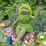 Piggy--Topiary-Epcot-Flower-Garden-Festival