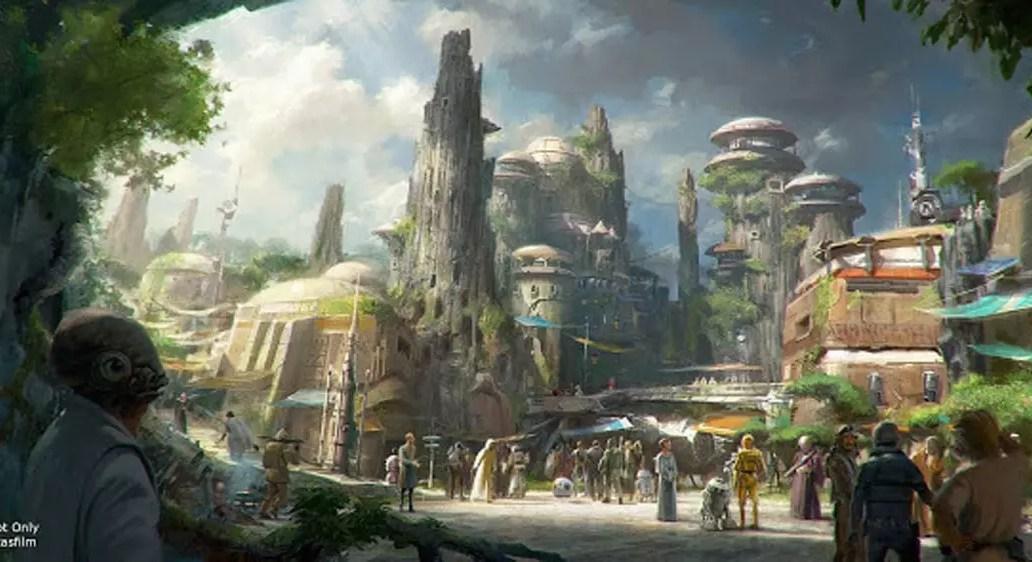Star Wars Land Coming to Disney World and Disneyland