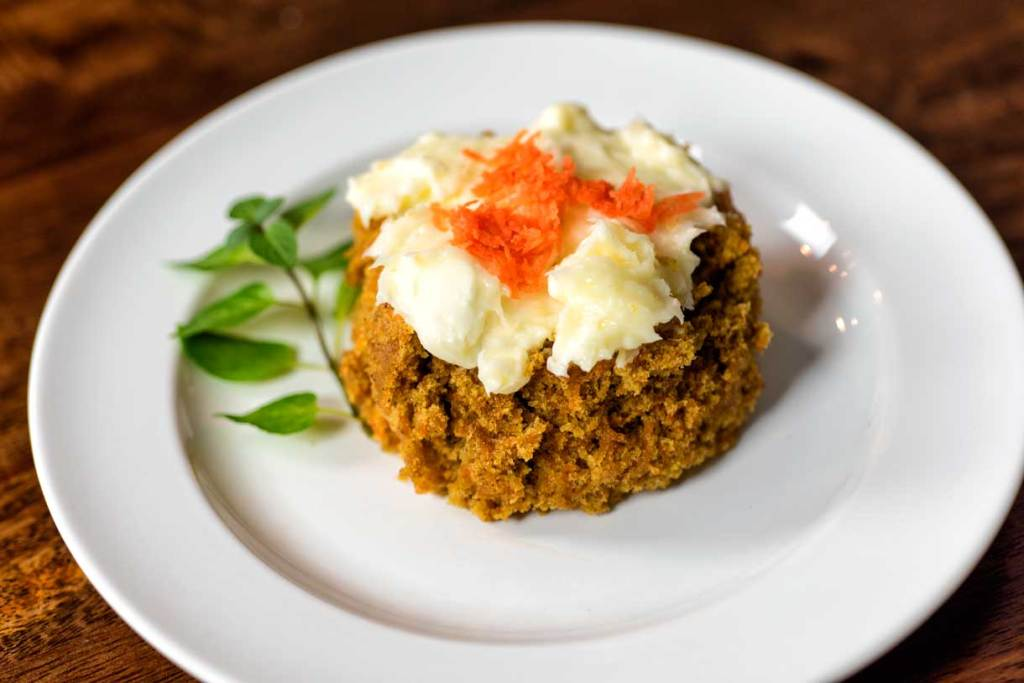 Carrot Cake in Five Minutes