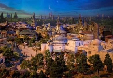 Walt Disney Parks Reveals Detailed Model of Star Wars-Themed Lands