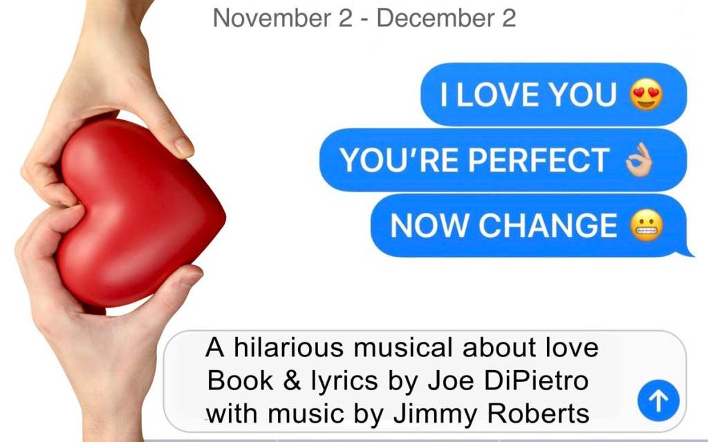 Be Theatre Presents I Love You You're Perfect Now Change