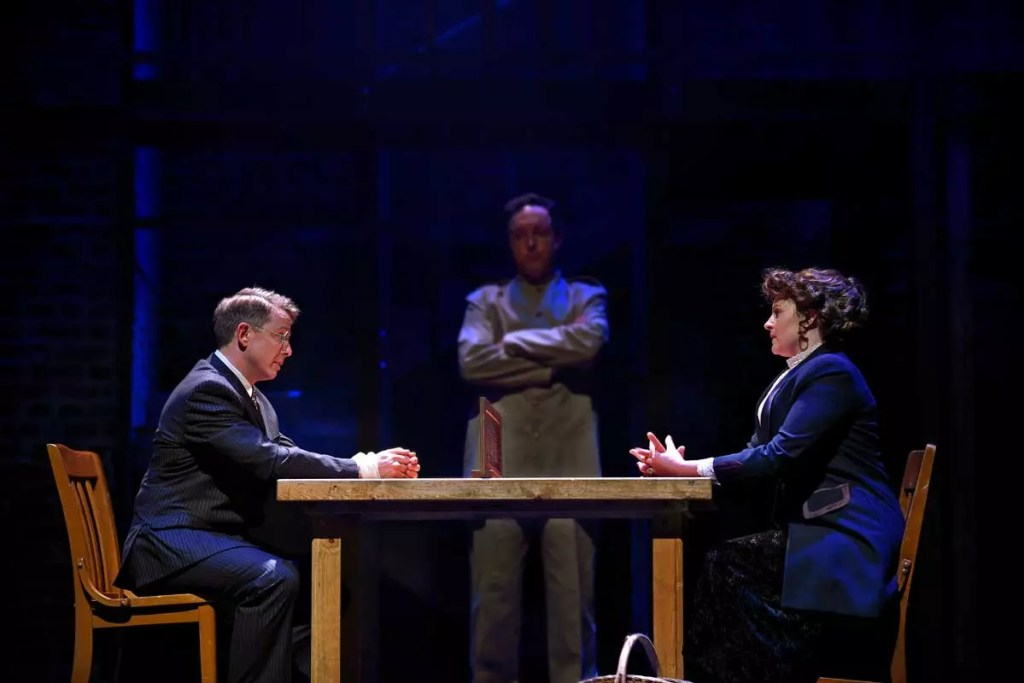 Jeff Skiwron and Chelle Denton in the 3D Theatricals production of