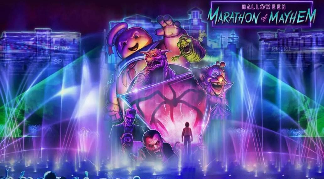 Universal Orlando Halloween Horror Nights Halloween Marathon of Mayhem
