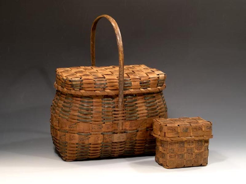 2013 Plain and Fancy: Native American Splint Baskets