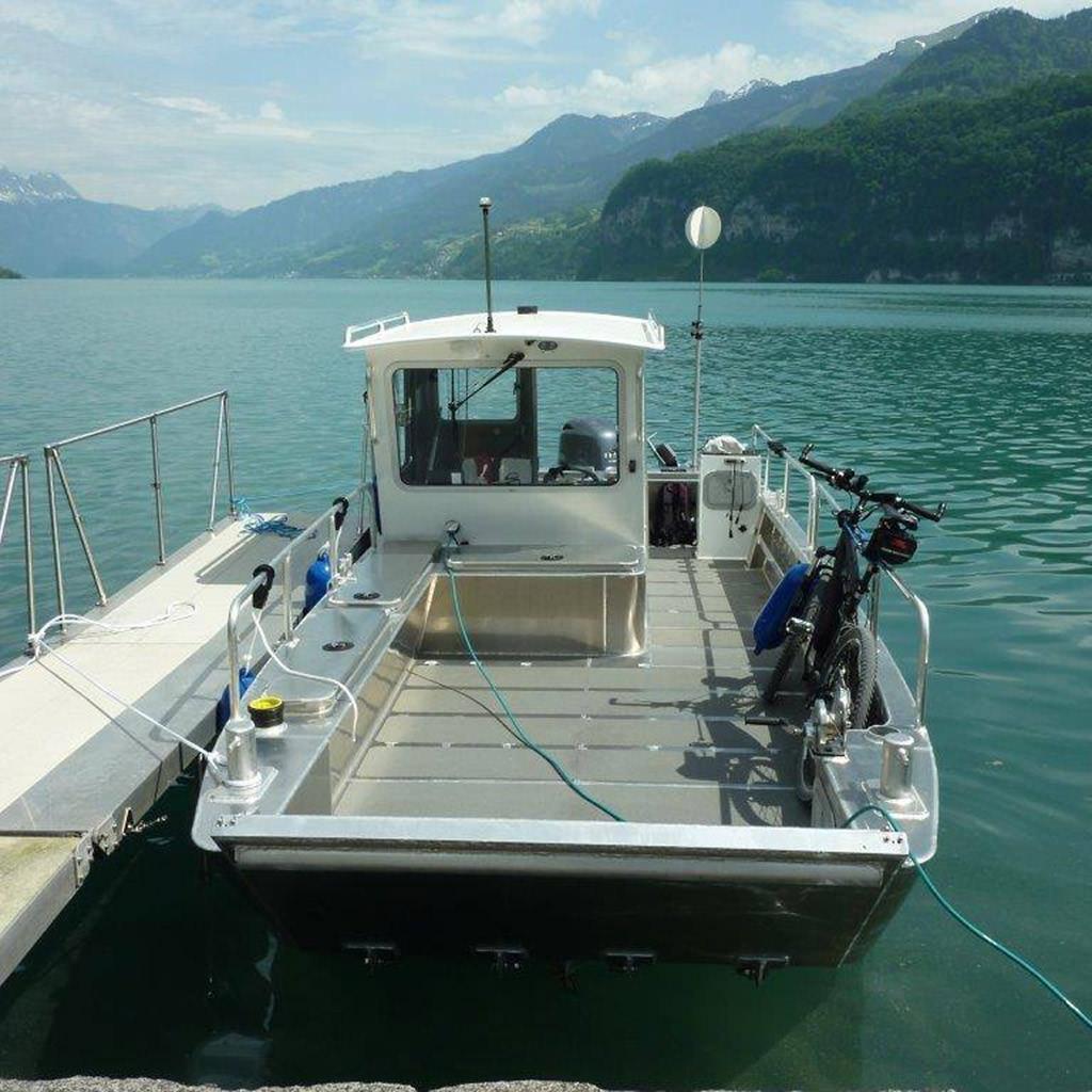 Arbeitsboote Sportboote Und Freizeitboote Aus Aluminium