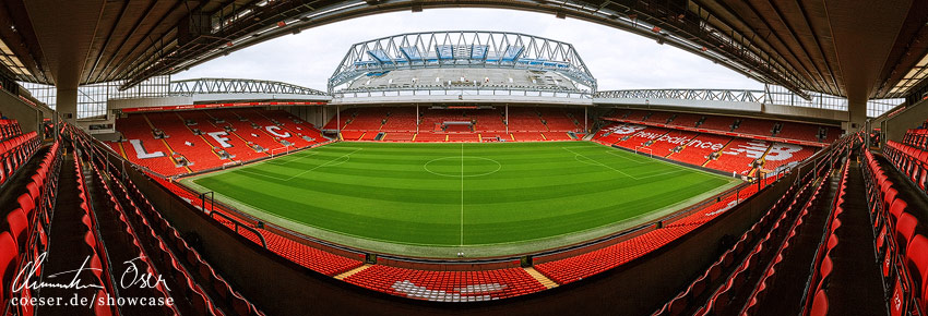 Anfield Road Liverpool England