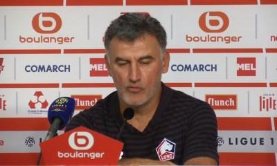 """OM/LOSC (2-1) - Christophe Galtier : """"Je crois qu'on va être au bêtisier du 31 décembre…"""""""