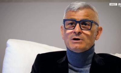 Gros plan sur l'attaquant Fabrizio Ravanelli