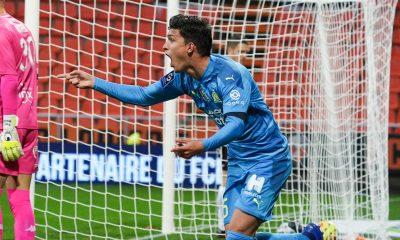 """Lorient/OM (0-1) - Balerdi : """"Je suis heureux que le ballon soit rentré"""""""
