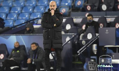 "Manchester City/OM (3-0) - Guardiola : ""L'OM pourrait être leader de Ligue 1"""
