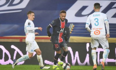 PSG/OM (2-1) - Neymar chambre Payet et Marseille