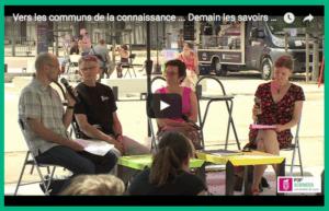 Pop Science : la table ronde sur les communs de la connaissance en vidéo