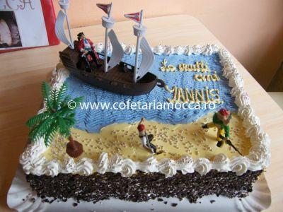 Tort pentru baieti pirati copii oradea (208)
