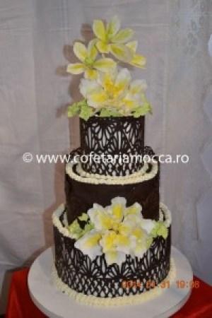 Tort de nunta din ciocolata oradea