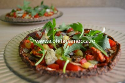 Pizza raw vegan