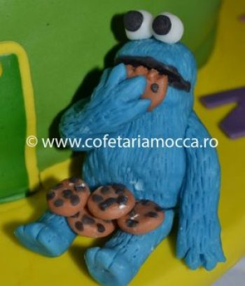 Figurine Sesame Street din martipan (1)