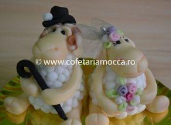 figurina oite din martipan pentru nunta
