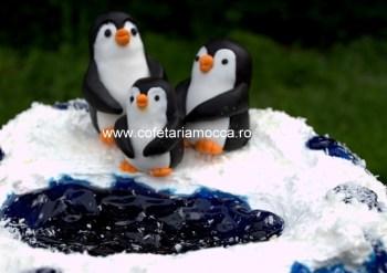 tort cu pinguini oradea