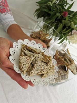 Cracker Rawvegan cu Varza