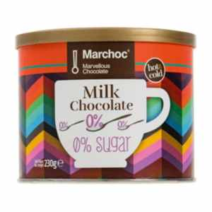 Marchoc - Σοκολάτα Γάλακτος 0% Ζάχαρη