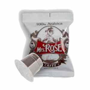 Mrs Rose - 50 Nespresso συμβατές κάψουλες 100% Arabica