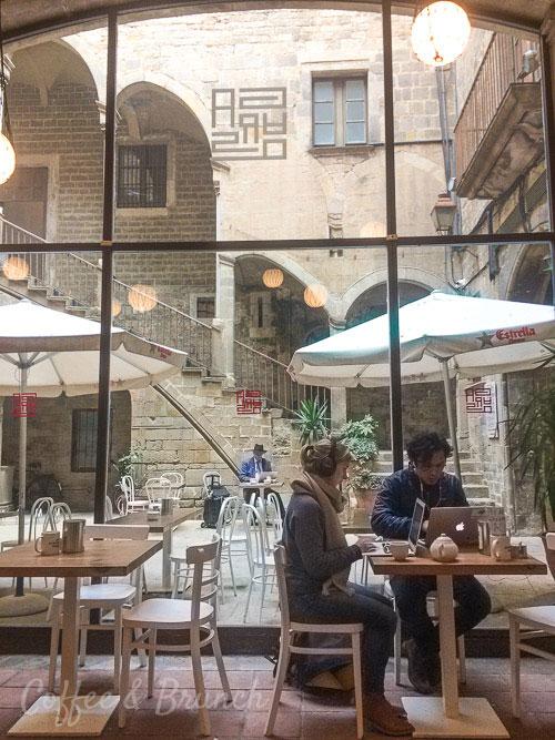 Cafes con Wi-Fi en Barcelona