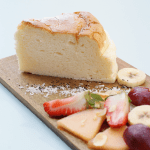 Cheesecake japonés en Think sweet - Nuevo brunch en Barcelona