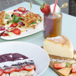 Smoothie en Think sweet - Nuevo brunch en Barcelona