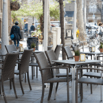 Terraza de Think sweet - Nuevo brunch en Barcelona