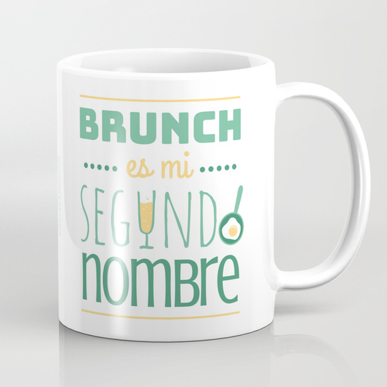 "Taza 300 ml ""Brunch es mi segundo nombre"""