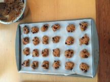 pumpkin spice chocolate chip cookies...almost