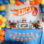 Hot Wheels Birthday Party At Home While Social Distancing