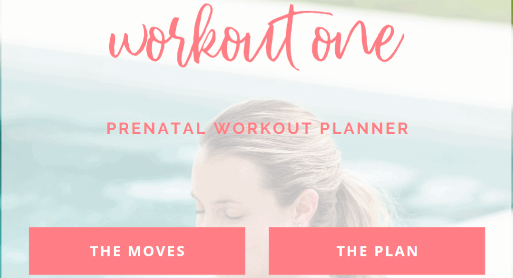 first trimester workouts