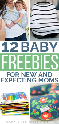 12 Freebies for New and Expecting Moms