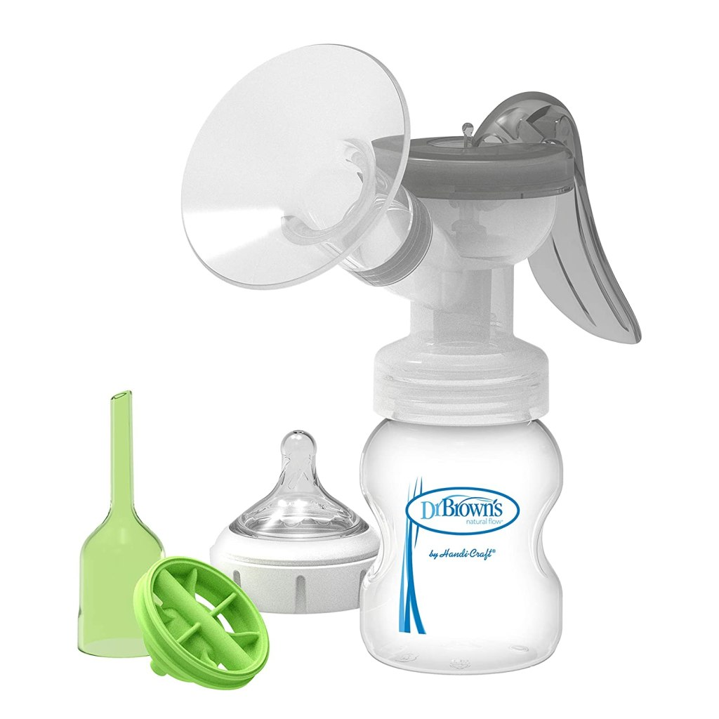 dr. browns manual breast pump