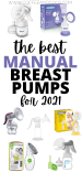 THE BEST MANUAL BREAST PUMPS
