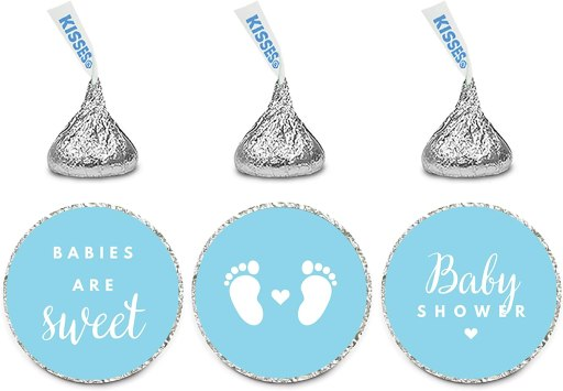 personalized hershey kisses cheap baby shower favor