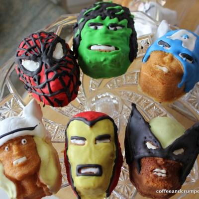 Marvel Superhero Cakelets and a Birthday