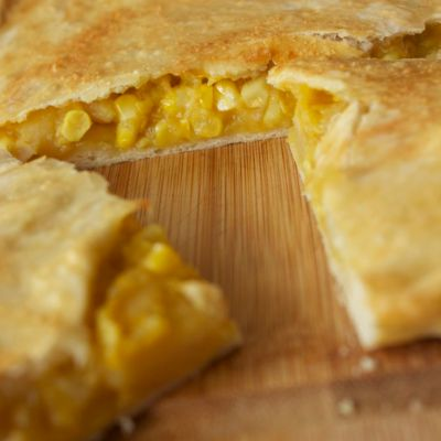 Zucchini, Potato and Corn Empanada~ Daring Bakers' September Challenge
