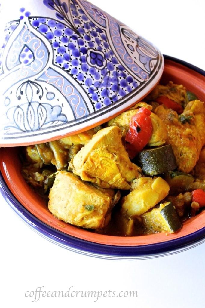 harissa chicken and vegetable tagine
