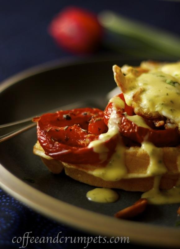 waffle benedict