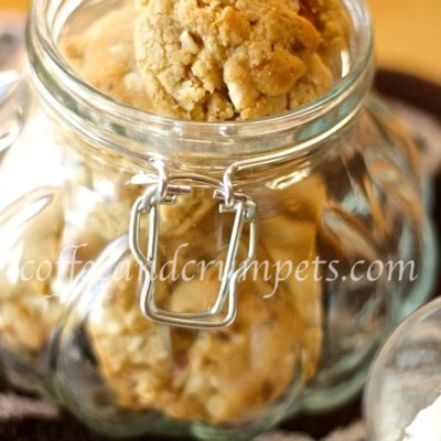 Brown Butter, White Chocolate and Pecan Cookies