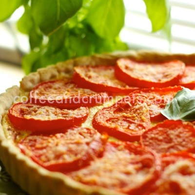 Tomato and Herb Cheese Tart