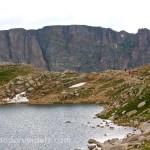 Summit Lake at Mount Evans