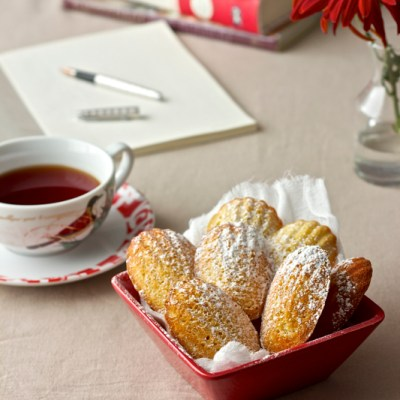 Orange Cardamom Madeleines