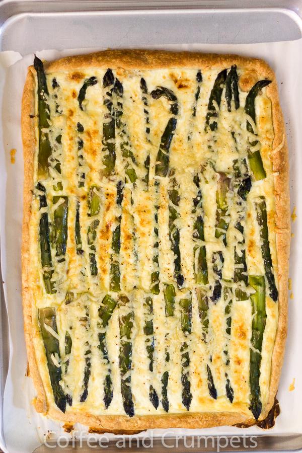 Asparagus and Emmentaler Tart-4