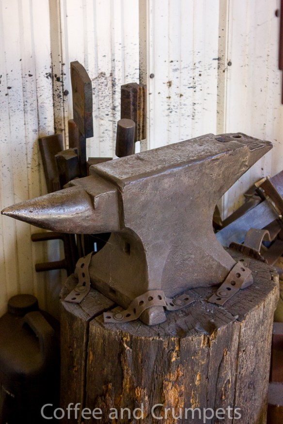 Let me tell you how excited I was to see a real anvil!